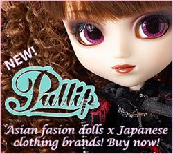 New! Pullip Fashion Dolls