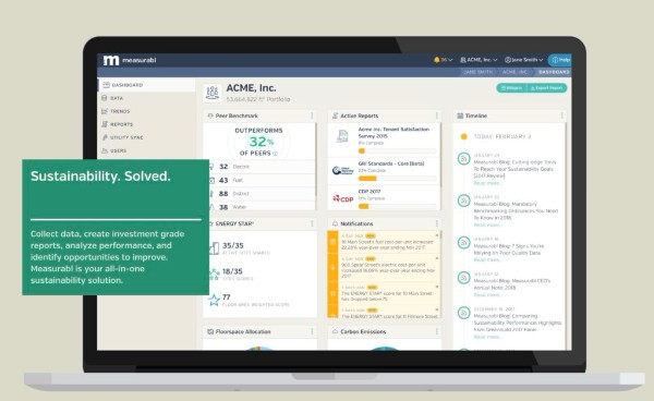 Measurabl Expands Data Management, Benchmarking Software with $7M in Funding