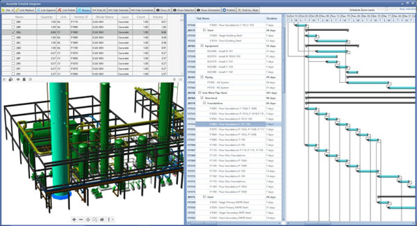 4D BIM Enabled by Oracle-Assemble Partnership
