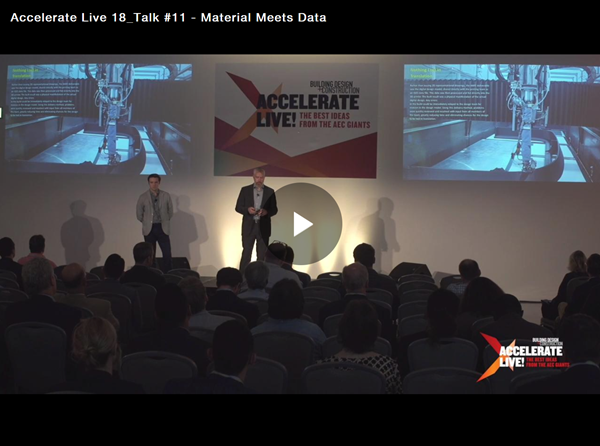 Accelerate Live! talk: How advanced digital fabrication techniques are driving design innovation