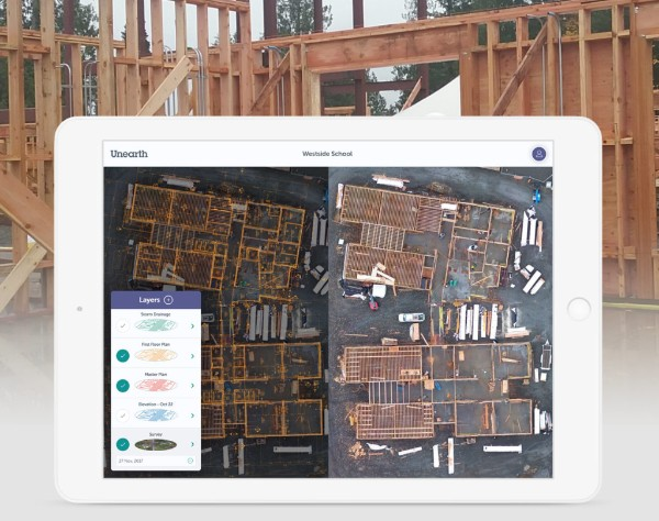 Construction software startup Unearth lands $3M, uses drones and aerial images to create interactive site maps