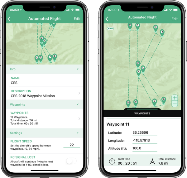 Kittyhawk adds automated multi-waypoint flights to its drone-control software