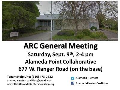 Alameda Renters Coalition @ Alameda Point Collaborative | Alameda | California | United States