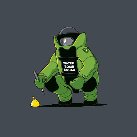 Water Bomb Squad T-Shirt