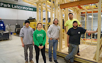 NMC Construction Technology students