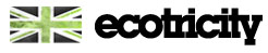 Ecotricity logo and flag