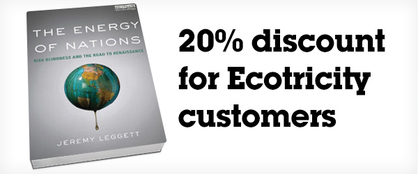 The Energy Of Nations – 20 per cent off for Ecotricity customers