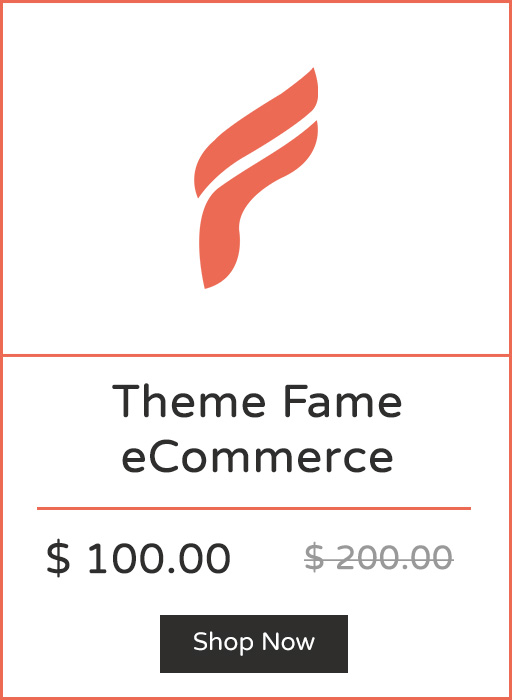 Theme Fame for Beauty & Apparel