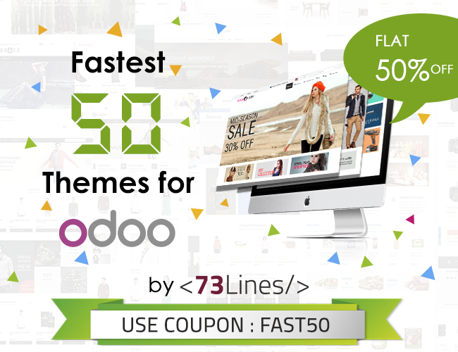Fastest 50 Theme for Odoo