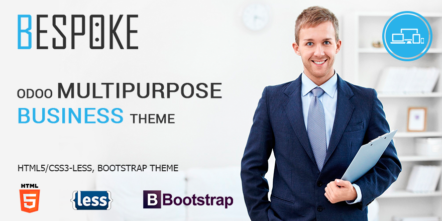 Theme Bespoke Odoo Multipurpose Business Theme