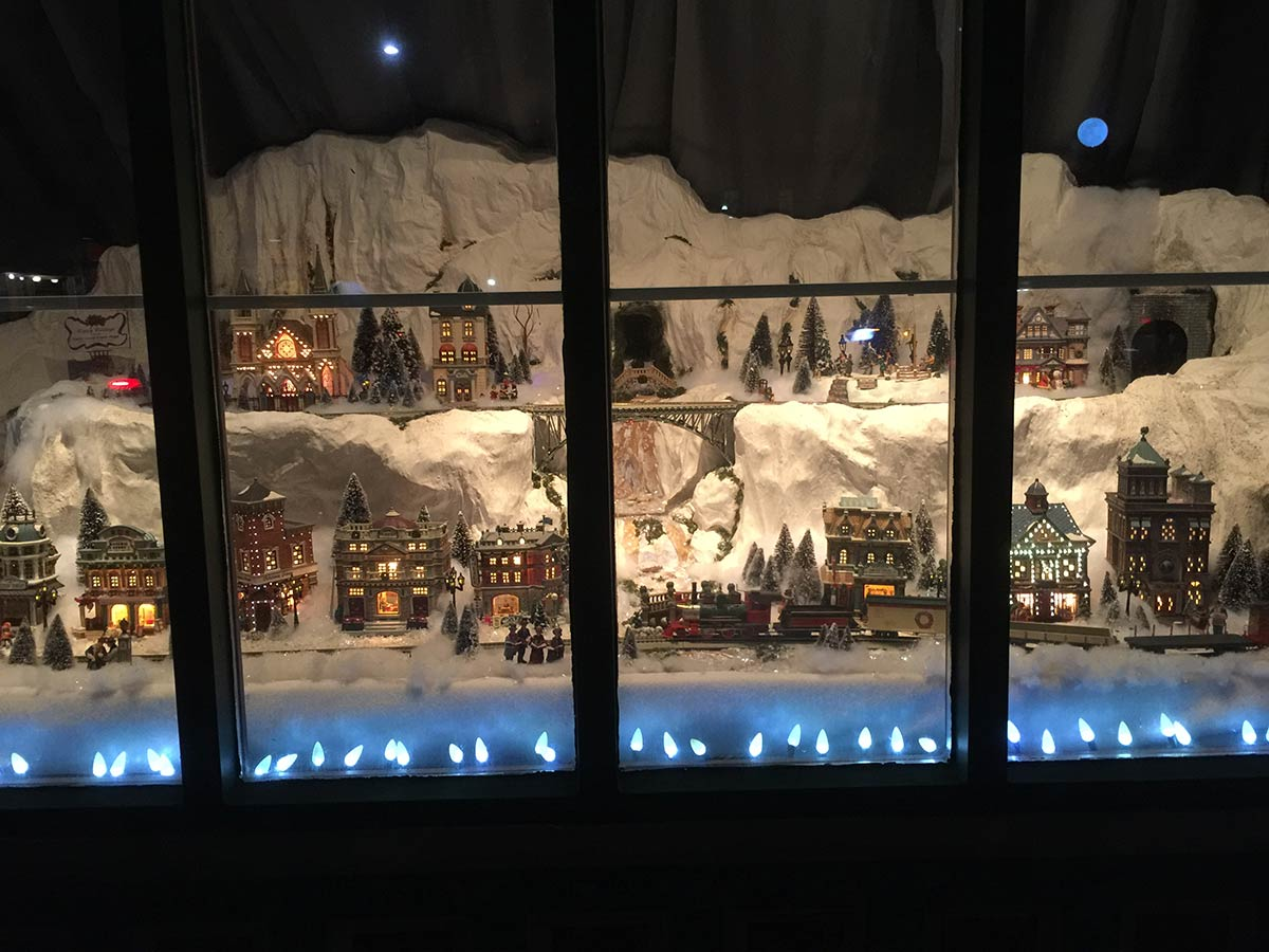 Victorian Village Christmas Display - Moore Design Group