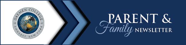 Parent & Family Newsletter header