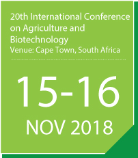 20th International Conference on Agriculture and Biotechnology