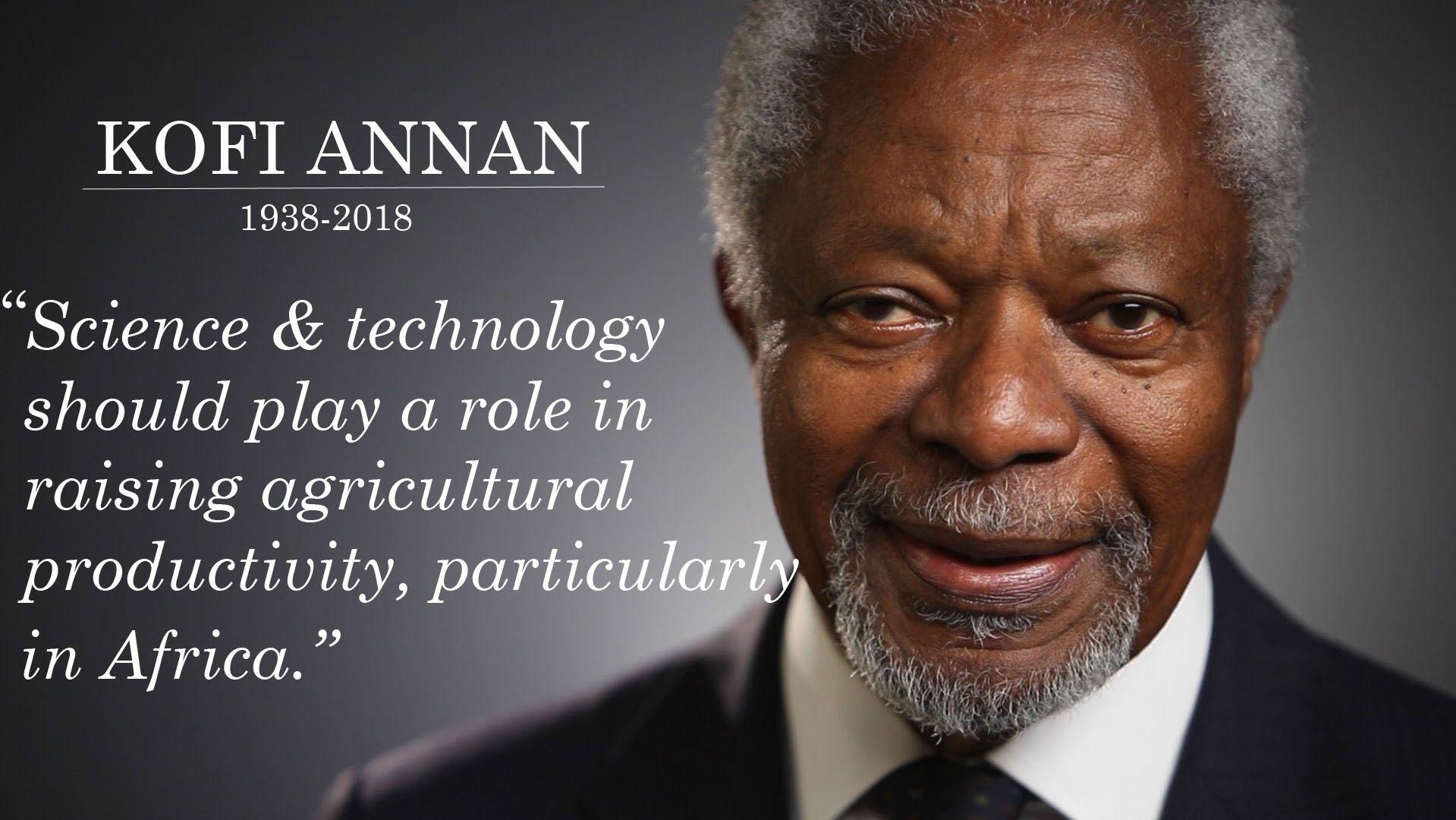 AfriCenter's tribute to Kofi Annan
