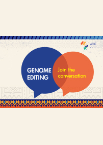GENOME EDITING: Join the conversation