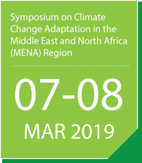 Symposium on Climate Change Adaptation in the Middle East and North Africa (MENA) Region