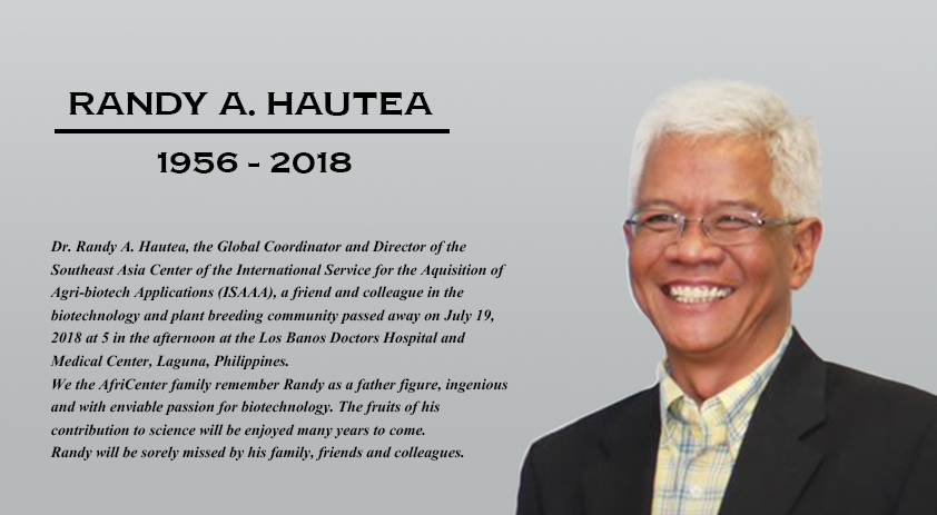 AfriCenter's tribute to Randy A. Hautea