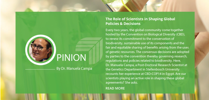 The Role of Scientists in Shaping Global Policies & Decisions