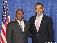 Douglas M. Brooks and President Obama