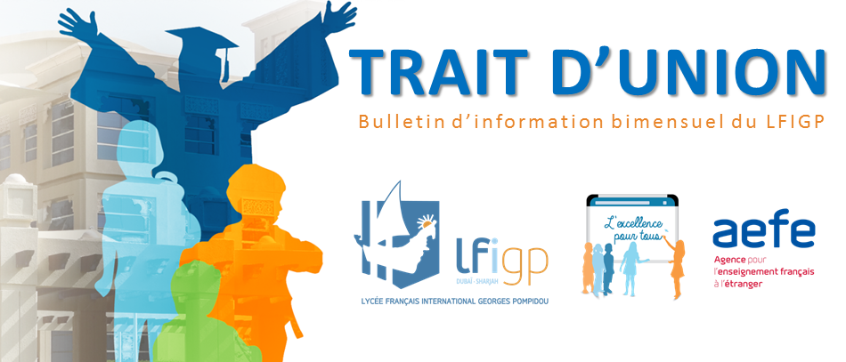 Trait d'Union - Bulletin d'information bi-mensuel du LFIGP