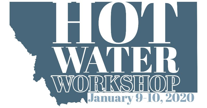 Hot Water Workshop- January 9-10, 2020