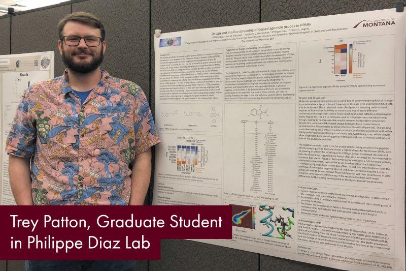 Trey Patton, Graduate Student in Philippe Diaz Lab