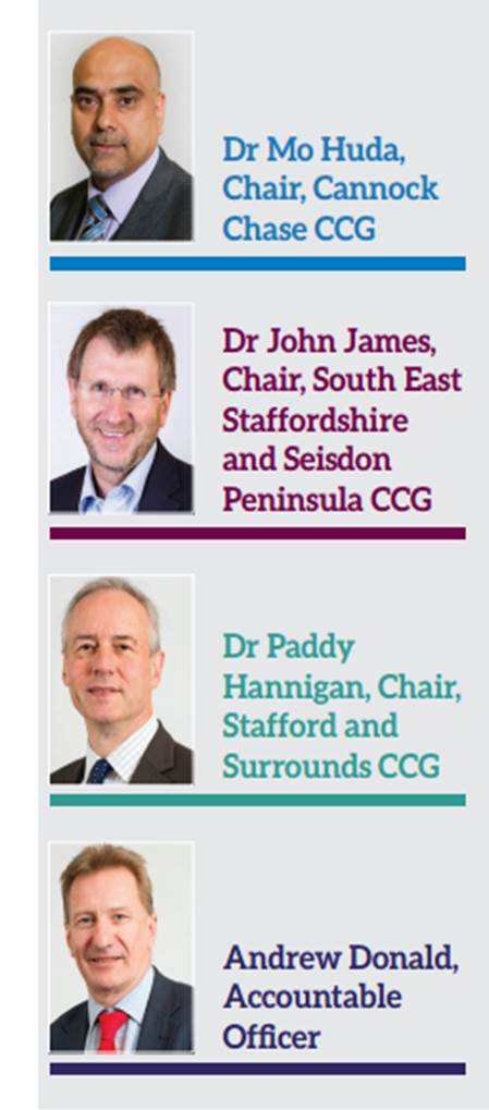 Dr Mo Huda / Dr John James / Dr Paddy Hannigan / Andrew Donald