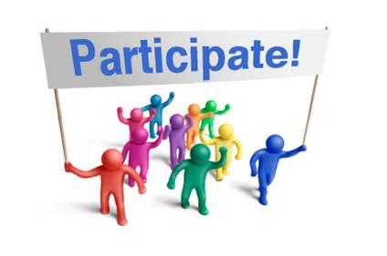 Participate!