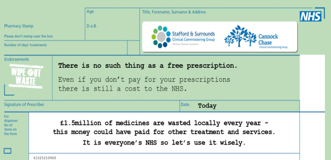 There is no such thing as a free prescription