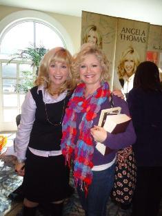 Me with Angela Thomas