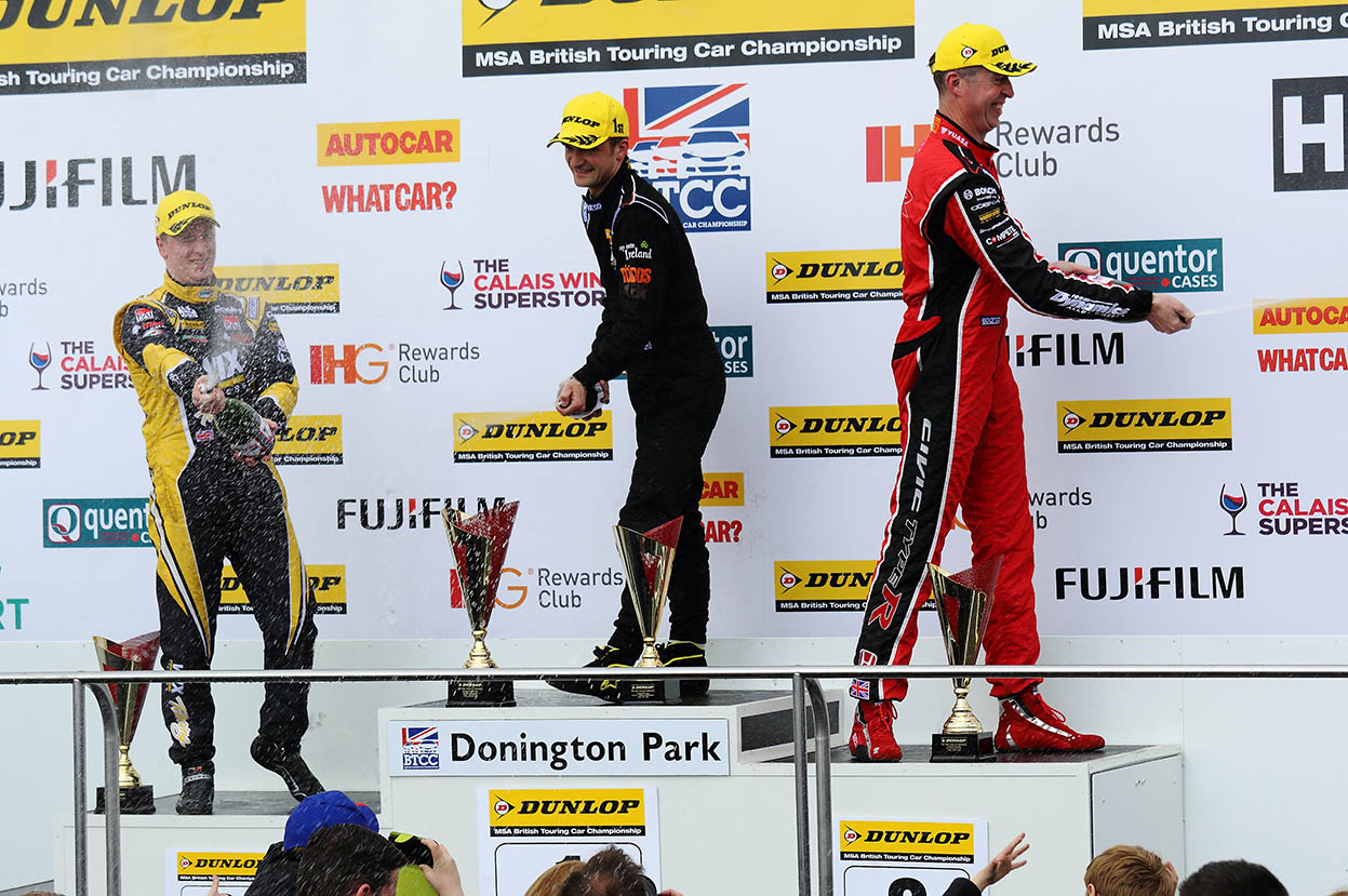 WIX/FAI sponsored BTCC Driver Adam Morgan – Donington