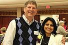 Marty Loy and Nisha Fernando