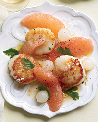 Scallop & Grapefruit Recipe