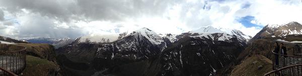 Потрясающий горный хребет