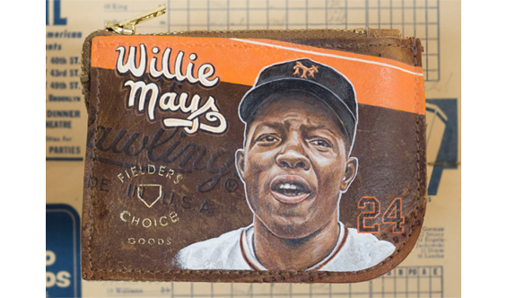 Willie Mays Wallet for Fielder's Choice Goods