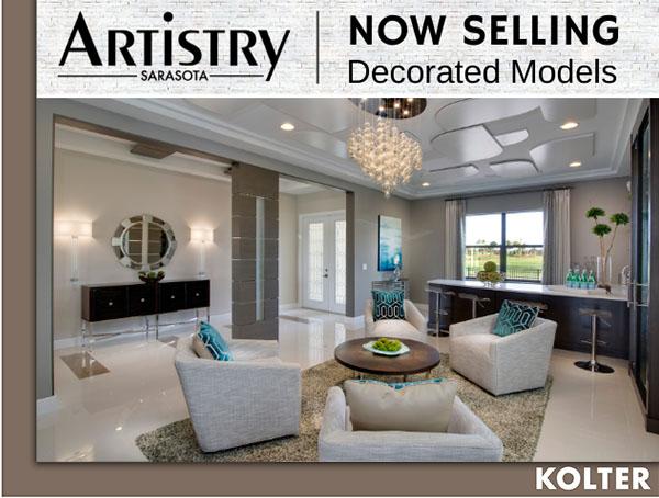 Decorated Models for Sale at Artistry Sarasota