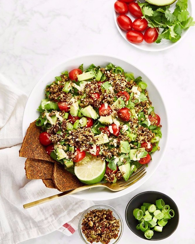 Easy Nut-Free Taco Salad
