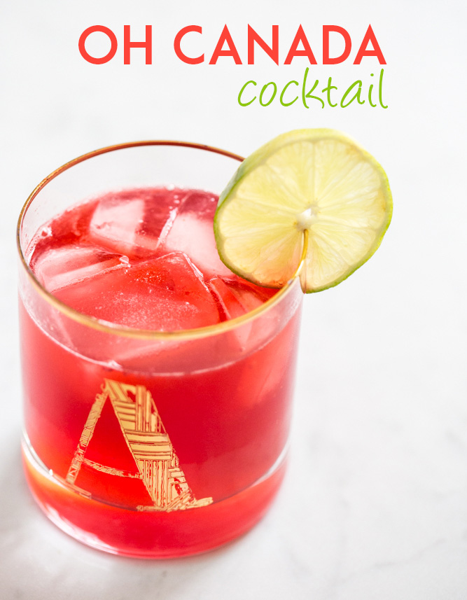 Oh Canada Cocktail