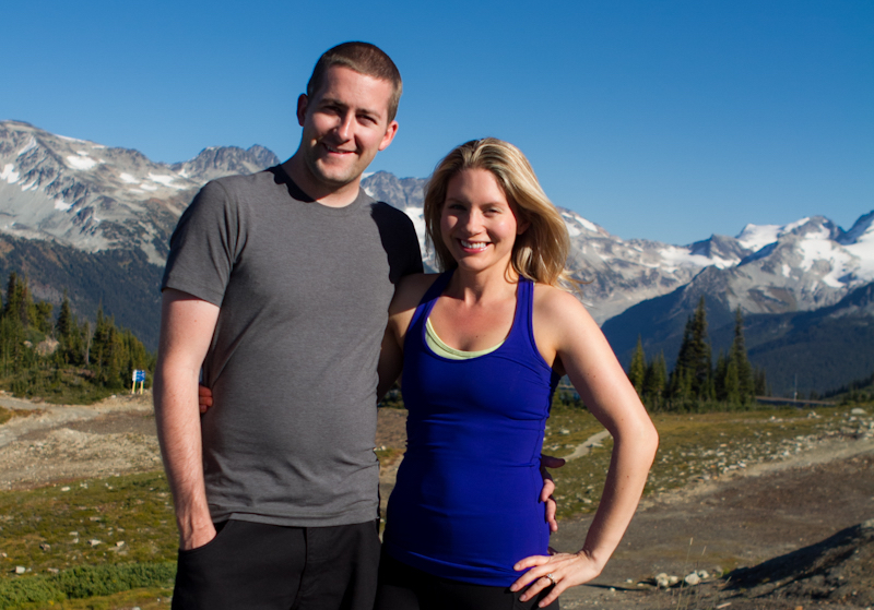 Angela and Eric, Whistler, BC