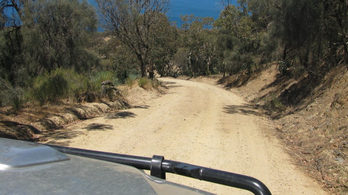 The descent to Blowhole Beach in Deep Creek Conservation Park