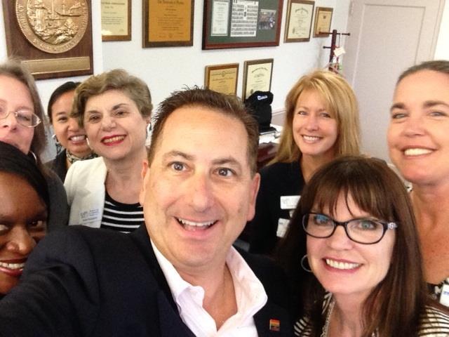 BPWSPP selfie with Mayor Kriseman