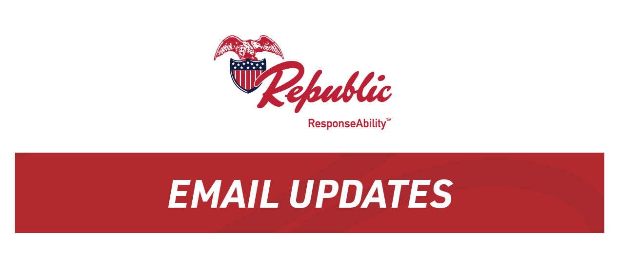 Republic Email Updates