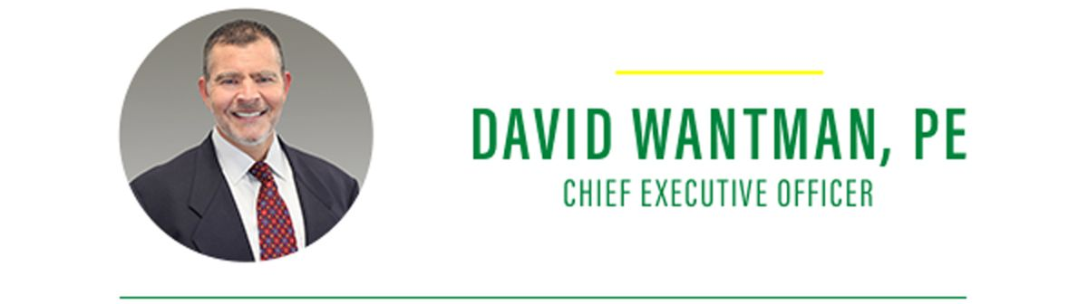 David Wantman, PE Chief Executive Officer