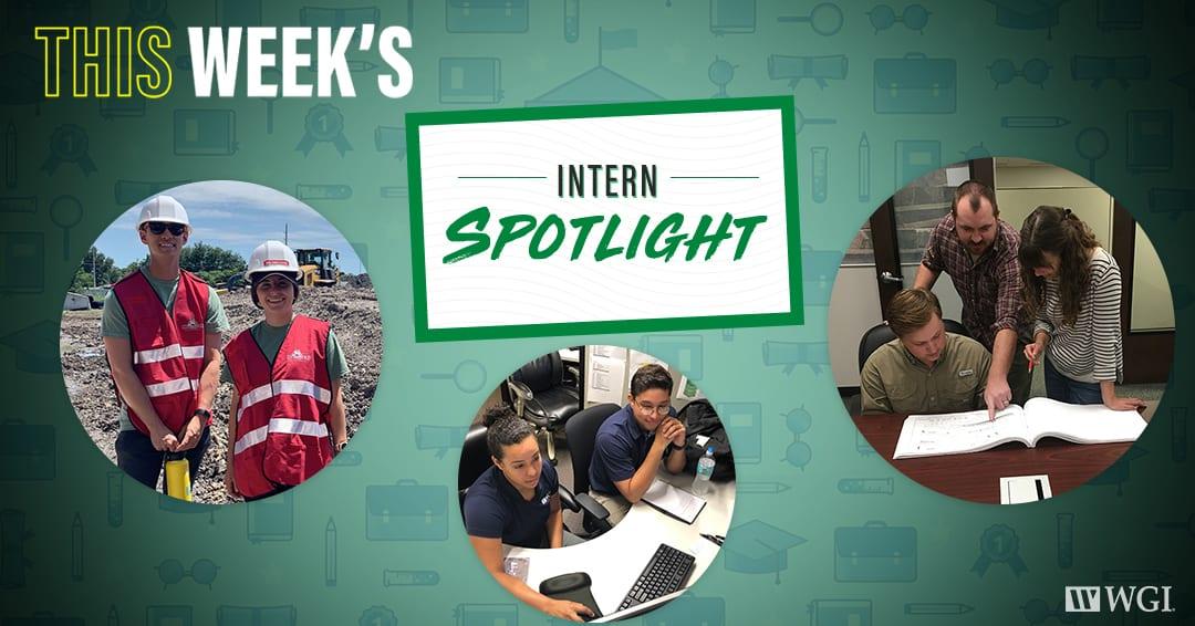 This Week's Intern Spotlight