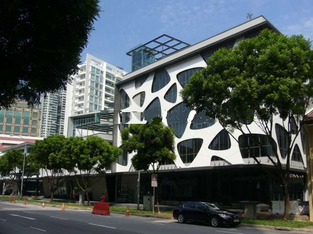Picture of the exterior of the new CTI Office in Singapore