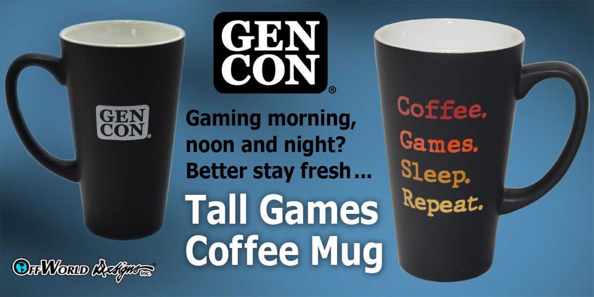 Tall Games Coffee Mug
