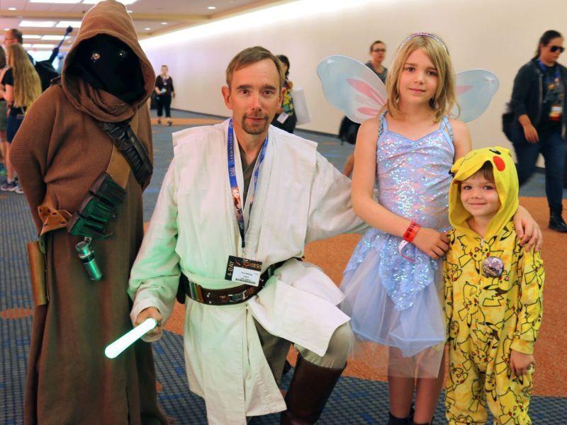 Families at Gen Con