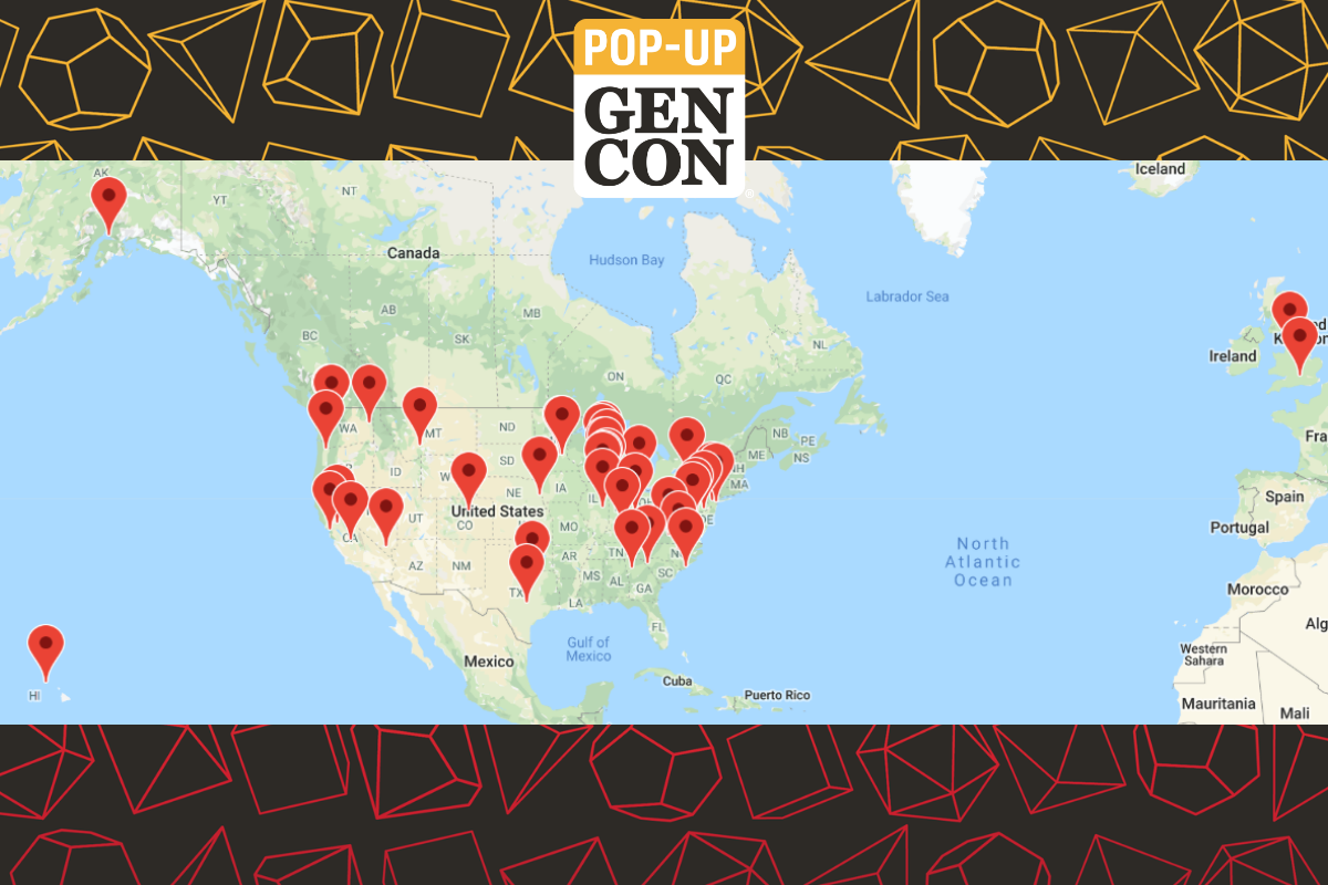 Pop-Up Gen Con Map