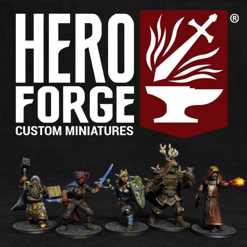 Hero Forge Custom Minisatures