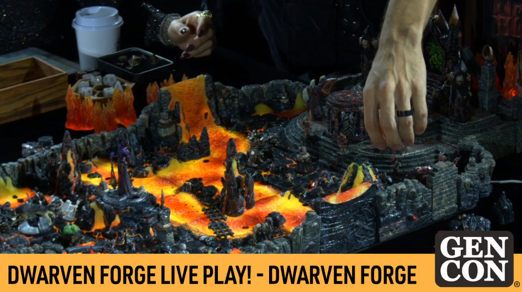 Dwarven Forge Live Play